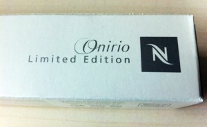 Nespresso Limited Edition Onirio