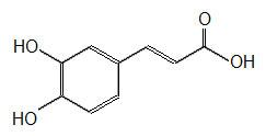 Kaffeesäure (3,4-Dihydroxyzimtsäure)