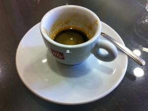 Café Castelletto: Illy Espresso