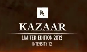 Nespresso Limited Edition Kazaar 2012