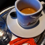 Espresso der marke Segafreddo